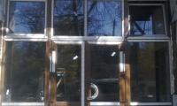 Металлопластиковые окна, двери. г. Симферополь, ул. Гавена, кафе