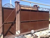 Автоматические раздвижные ворота,г.Севастополь1