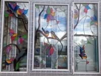 Архитектурное стекло (оконный блок)