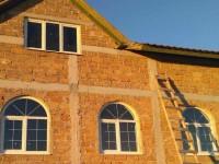 Арочные окна, частный дом г. Севастополь