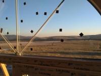 Шпросс в стеклопакете в арочном окне