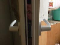 двухсторонняя ручка,дверь балконная